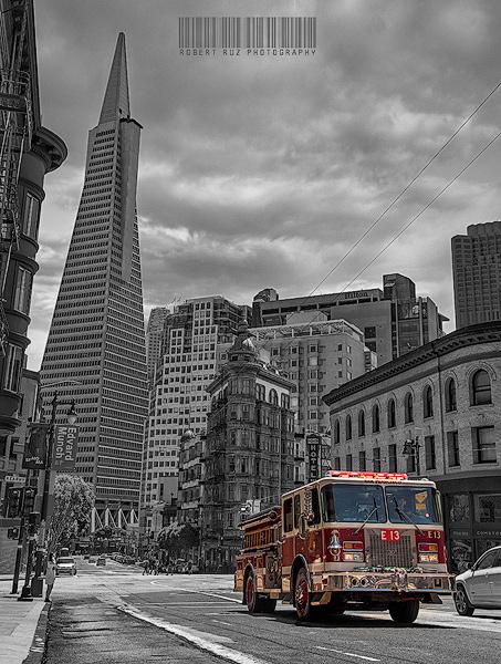 Columbus Avenue, San FranciscoFiremen
